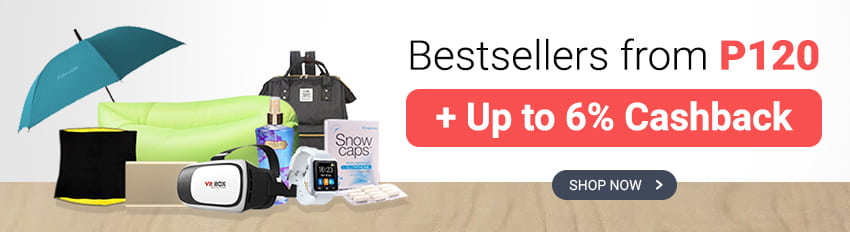 Bestsellers from P120 and get Cashback (Lazada, GreatValuePlus, Althea & more)