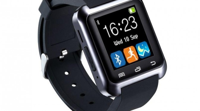 A Bluetooth-equipped u8 sports smartwatch