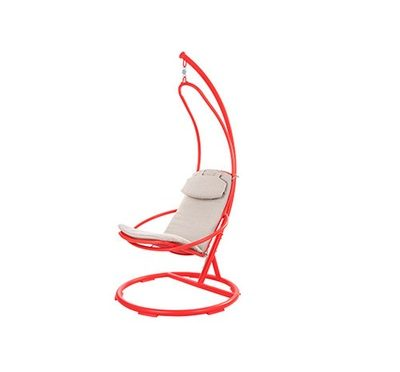 Stanley Steel Mesh Hanging Chair with Cushion