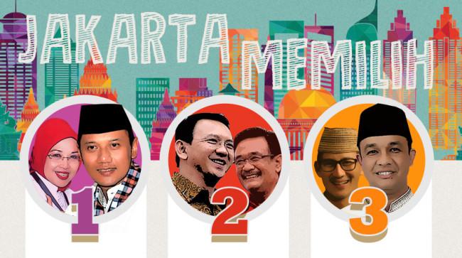 Image result for Pilkada Jakarta