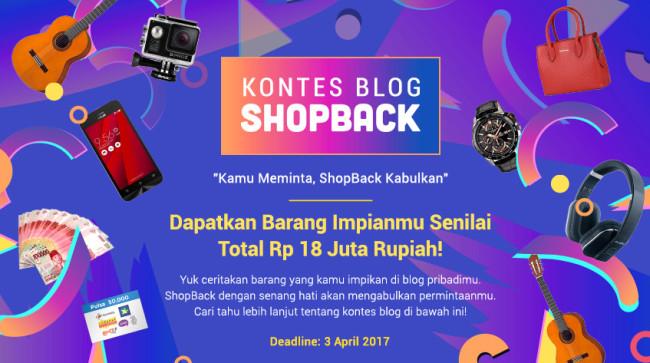 Kontes Blog Kamu Meminta ShopBack Kabulkan