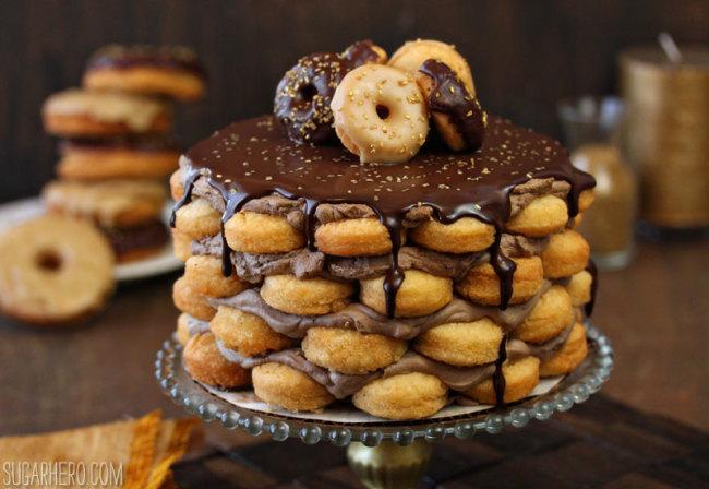 donat cake