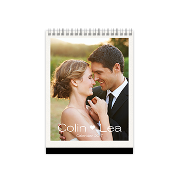 engagement year photobook calendar