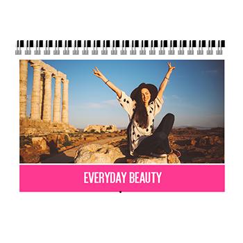 everyday beauty photobook calendar