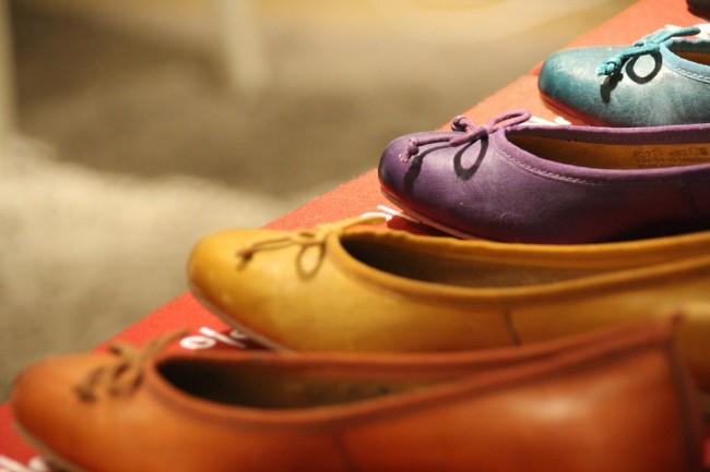 Add A Touch Of Colour To Your Outfits With These Flats From Cotton On