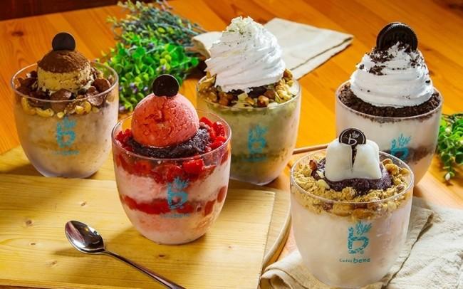 Signature Bingsu Selection - Caffe Bene