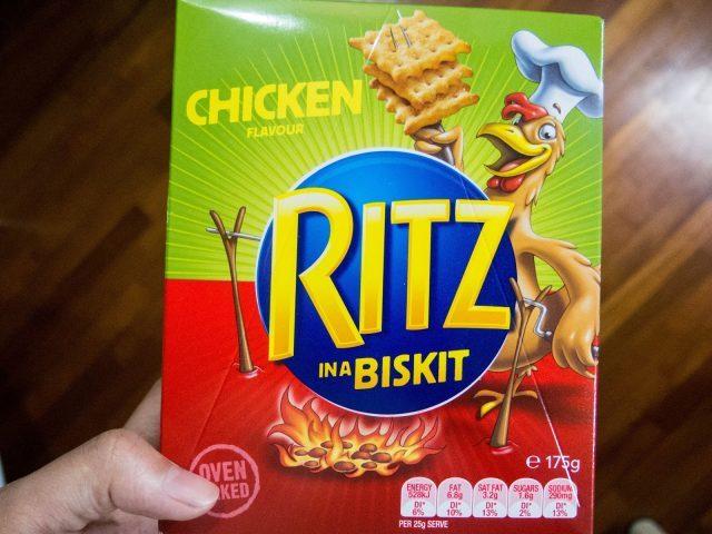 Ritz Chicken in a Biskit