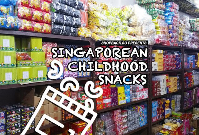 Singapore Childhood Snacks