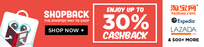 ShopBack Online Shopping Cashback