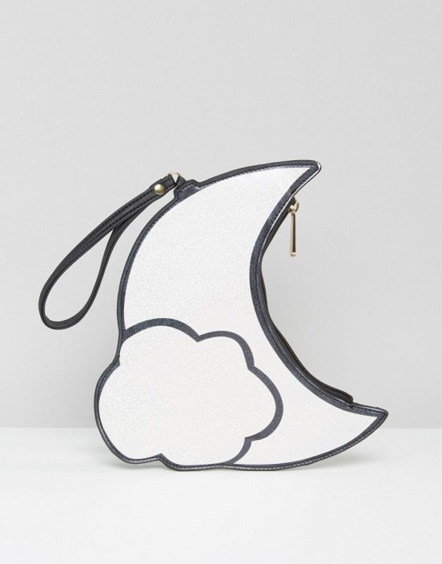 crescent moon pouch