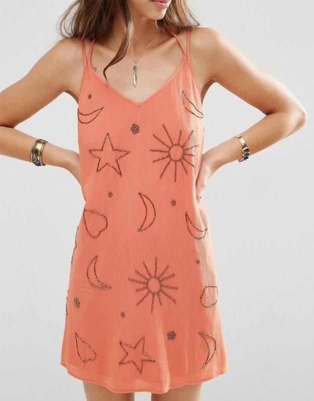 moon and sun dress