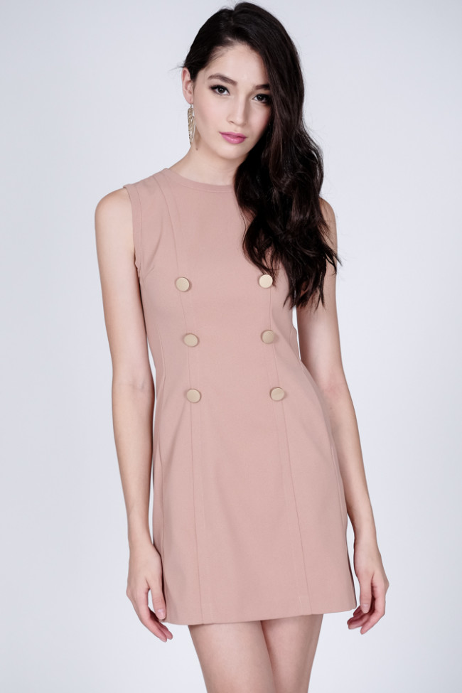 Rico Dress in Blush