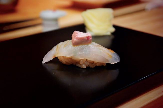 Filefish from shoukouwa and other premium sushi