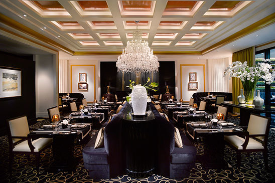 Joël Robuchon Restaurant, only three Michelin star restaurant in Singapore