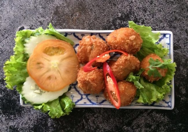 Siam Society Signature Prawn Ball