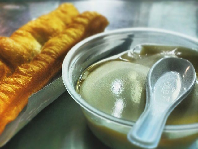 Rochor Original Beancurd pair with other fried snacks