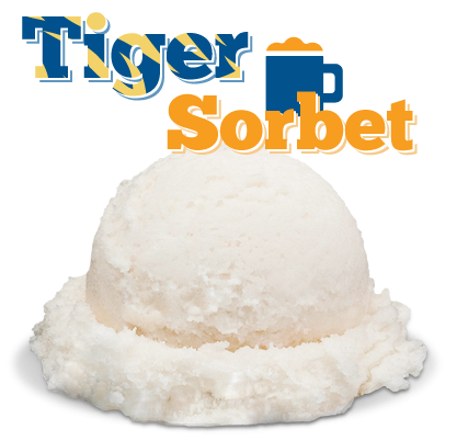 MIxing our very own local Tiger beer with ice cream!