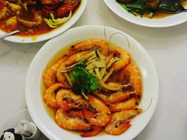 Ban Heng prawn dish