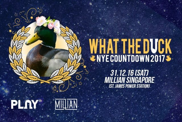 PLAY Club – What The Duck NYE Countdown 2017