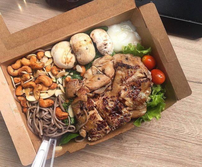 Shinkansen japanese style protein meals