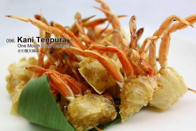 Shin Minori Crispy Crab