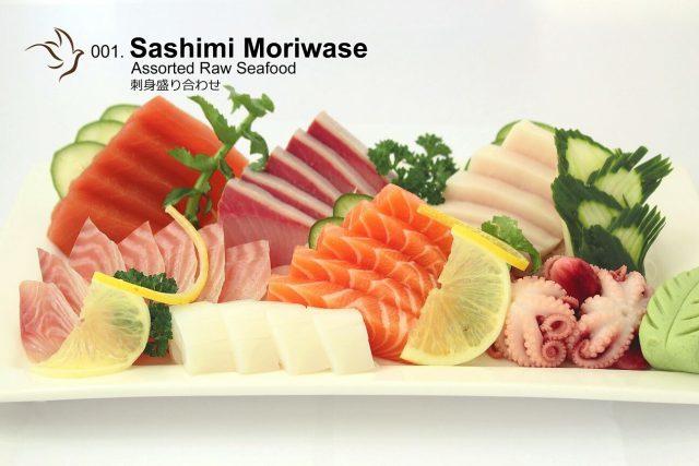 Shin Minori Assorted Sashimi