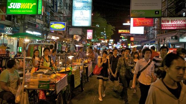 泰國自由行曼谷高山路