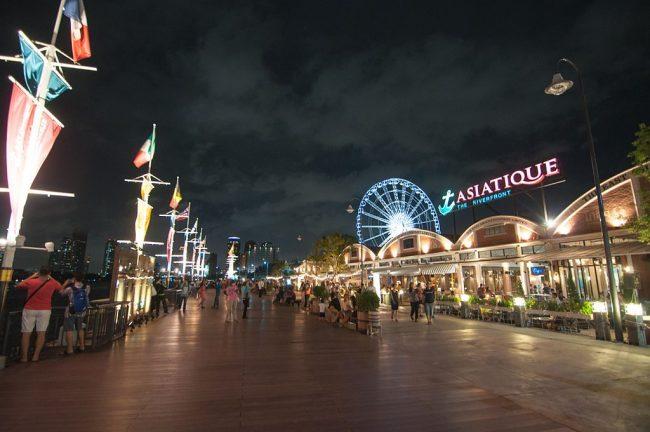 泰國自由行曼谷Asiatique河濱夜市