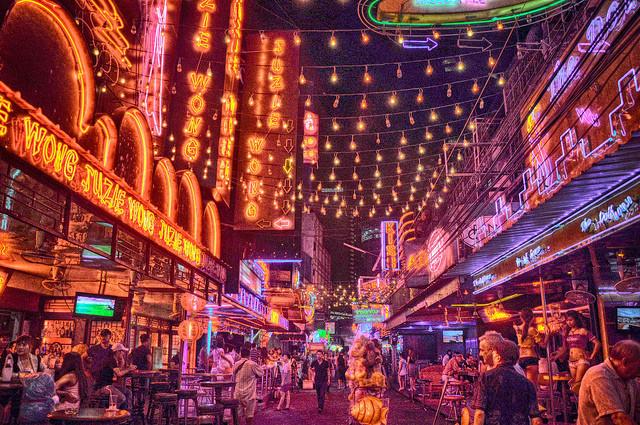 泰國自由行曼谷牛仔街