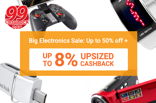 Big Electronics Sale: Up to 50% off