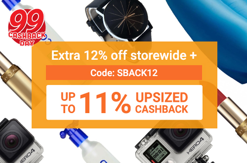 Extra 12% off storewide (new Lazada customers only | Min spend P1000)