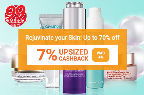 Rejuvinate your skin: Up to 70% off