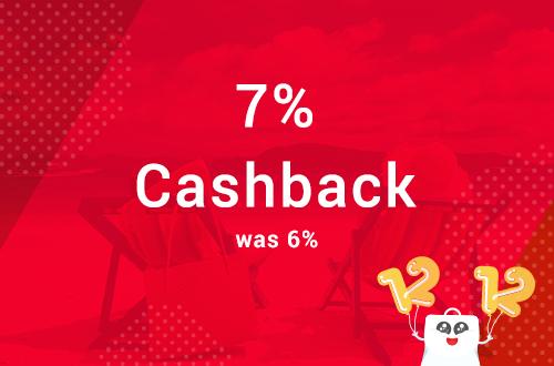 Agoda Promotion: Pre 12.12: 7% Cashback