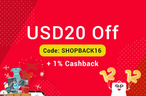 comGateway Promotion: USD20 Off on your first shipping