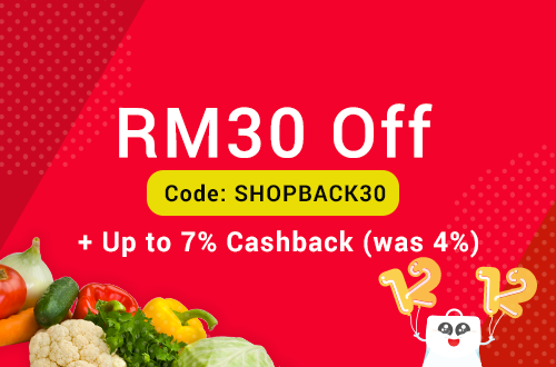 honestbee Promotion: RM 30 Off, min spend RM230. Valid for new honestbee users only.