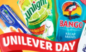 Unilever Day: Potongan Rp 20.000 Setiap Hari Rabu