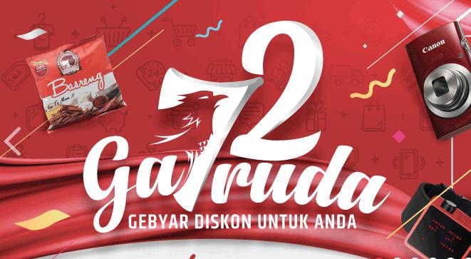Promo Garuda Merdeka - Diskon Hingga 72% Off
