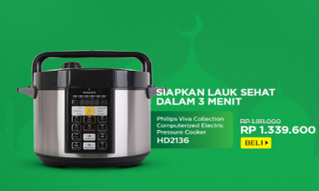 Promo Phillips Official Store - Diskon s/d 30% untuk Home Appliances