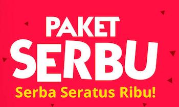 Paket SERBU - Serba Seratus Ribu!