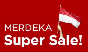 Merdeka Super Sale - up to 60% OFF