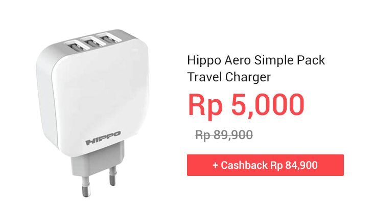 Hippo Aero Simple Pack Travel Charger
