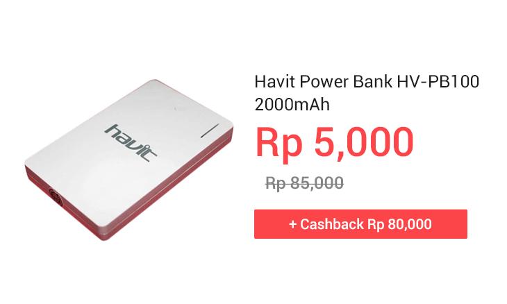 Havit Power Bank HV-PB100 2000mAh