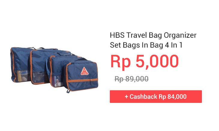 HBS Travel Bag Organizer Set Bags In Bag 4 In 1