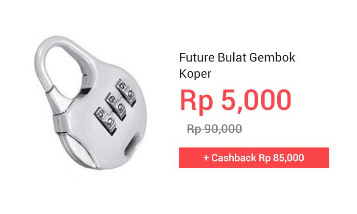 Future Bulat Gembok Koper
