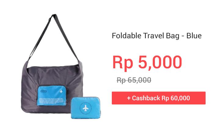 Foldable Travel Bag - Blue