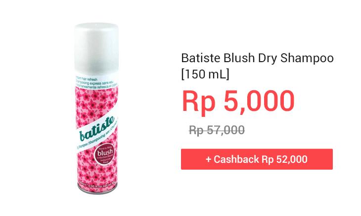Batiste Blush Dry Shampoo [150 mL]