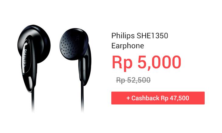 Philips SHE1350 Earphone
