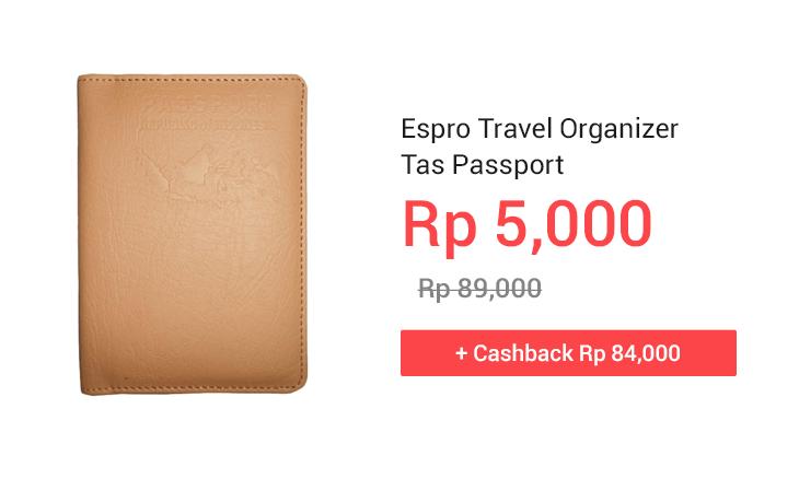 Espro Travel Organizer Tas Passport