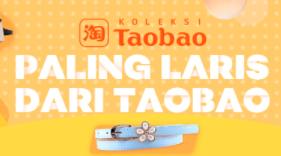 TAOBAO Resmi di Lazada + Gratis Ongkir