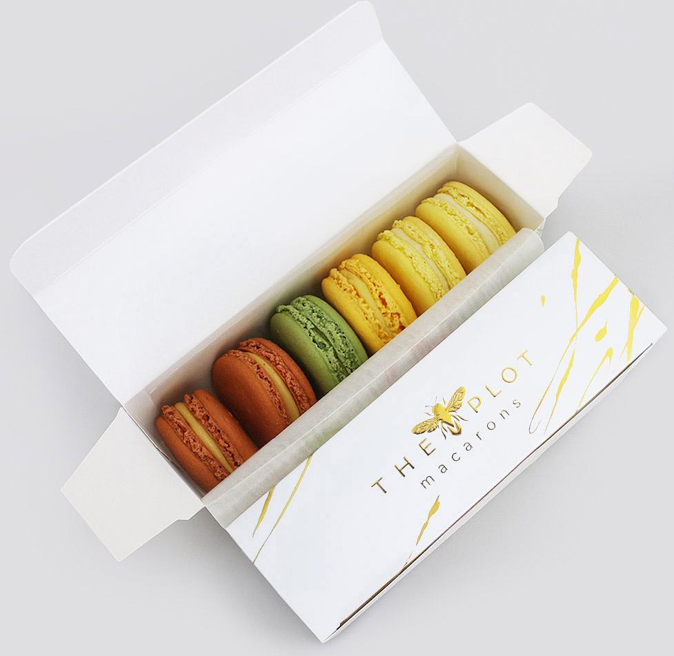 6 x Macarons